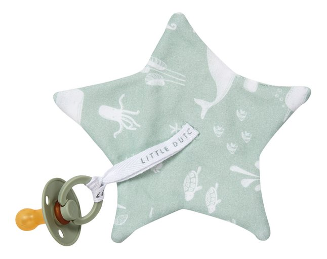 Afbeelding van Little Dutch Fopspeendoekje Ocean Mint from Dreambaby