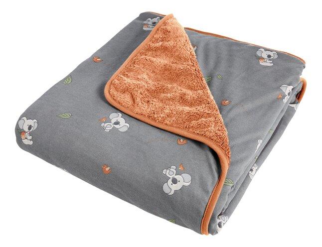 Dreambee Couverture pour lit Kai gris