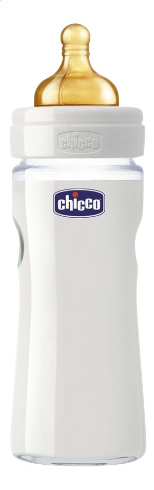 Image pour Chicco Biberon en verre Nature Glass 240 ml à partir de Dreambaby