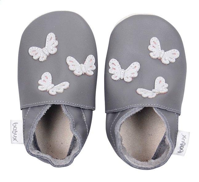 Afbeelding van Bobux Schoentjes Soft soles Butterflies grey from Dreambaby