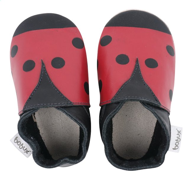 Afbeelding van Bobux Schoentjes Soft soles Ladybird red/black from Dreambaby