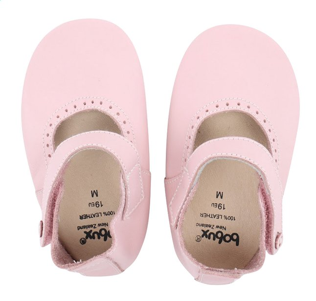Image pour Bobux Chaussons Soft soles Mary Jane light pink pointure 16/17 à partir de Dreambaby