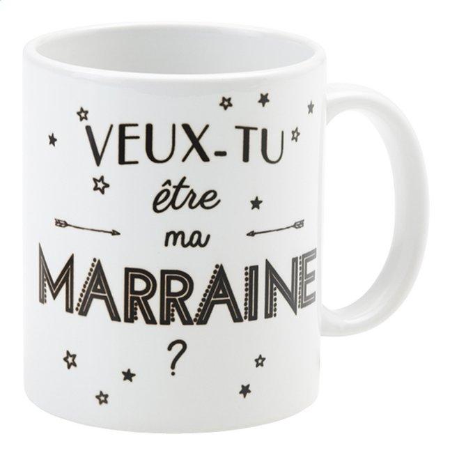 Afbeelding van Minimou Mok Veux-tu être ma marraine? FR from Dreambaby