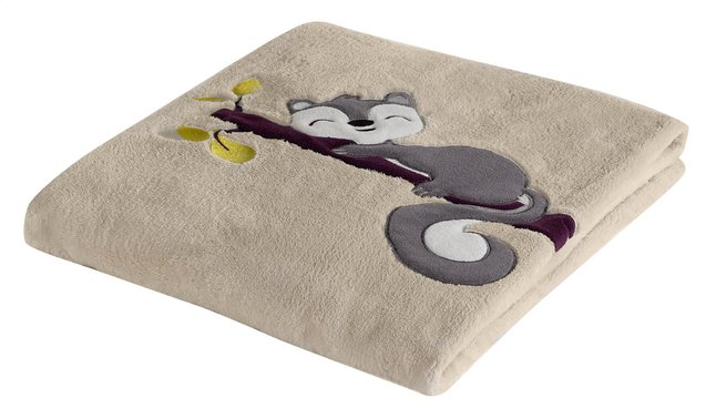 Afbeelding van Dreambee Deken voor bed Ayko crème fleece softy from Dreambaby