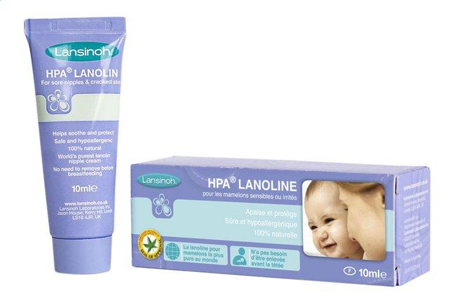Lansinoh Pommade pour mamelons HPA Lanolin 10 ml