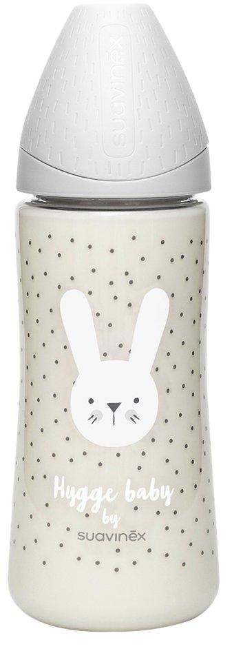 Suavinex Zuigfles Hygge Grey Rabbit 360 ml