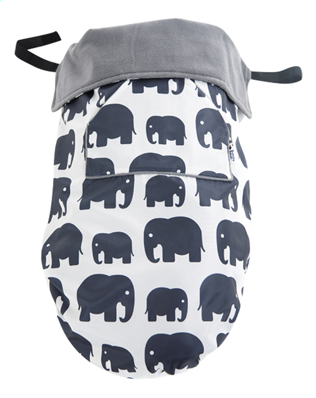 Afbeelding van Bundle Bean Multifunctioneel voetenzeil grey elephants from Dreambaby