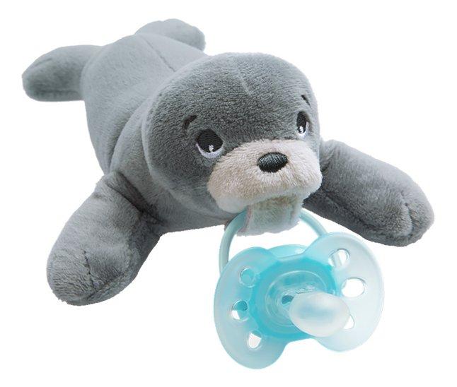 Image pour Philips AVENT Sucette + 0 mois Snuggle Phoque à partir de Dreambaby