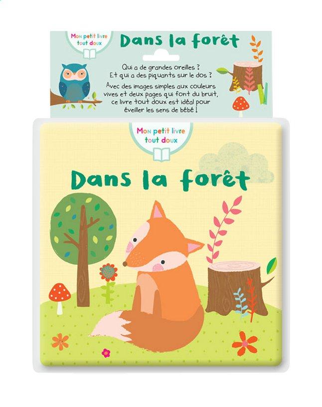 Knuffelboekje Mon petit livre tout doux, Dans la forêt FR