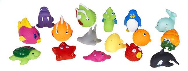DreamLand Badspeelgoed Baddiertjes - 16 stuks