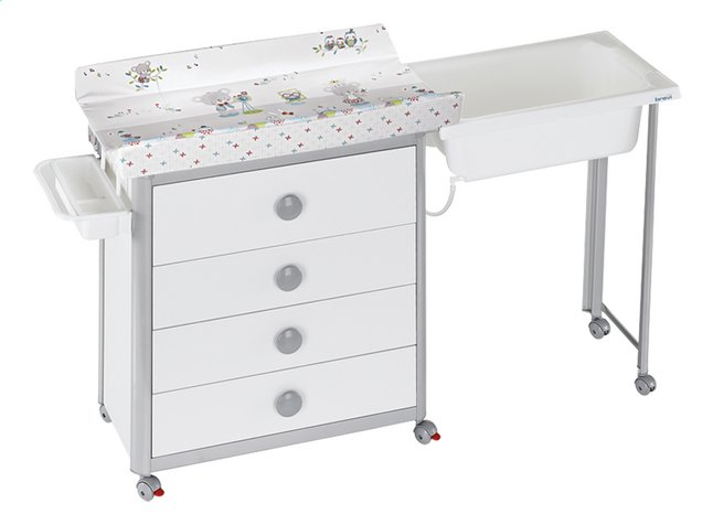 Brevi table langer idea koala dreambaby - Table a langer avec baignoire occasion ...