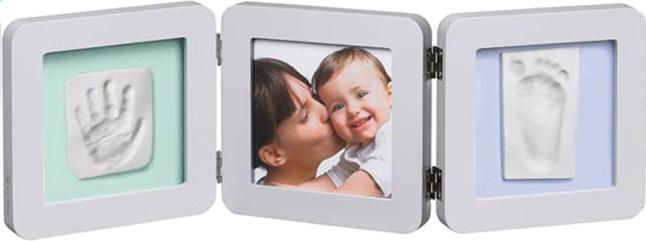 Afbeelding van Baby Art 3-delig fotokader met gipsafdruk groen/blauw from Dreambaby
