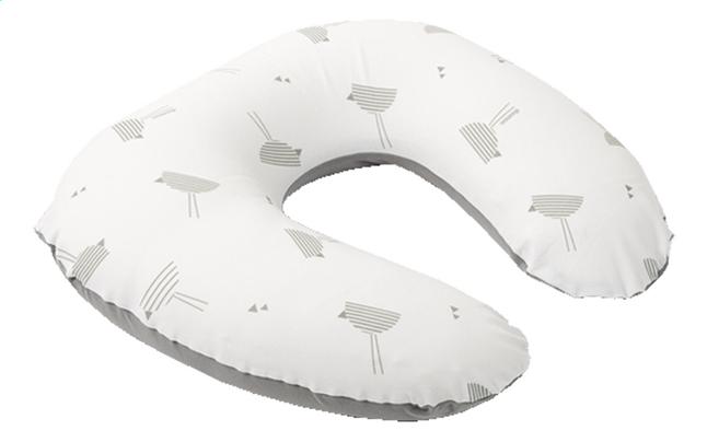 Doomoo Borstvoedingskussen Softy Birds Grey Dreambaby