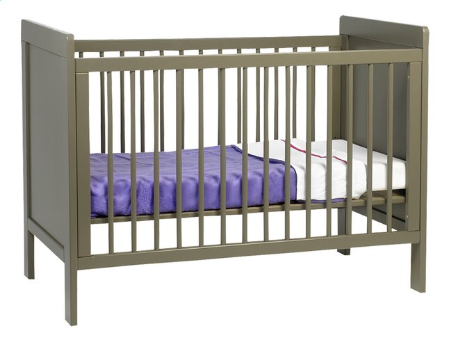 Afbeelding van Pericles Dennenhouten bed Pauline taupe from Dreambaby