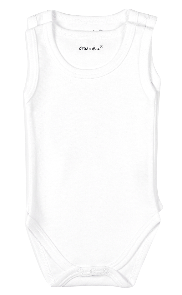 Dreambee Body sans manches Essentials off white - 2 pièces