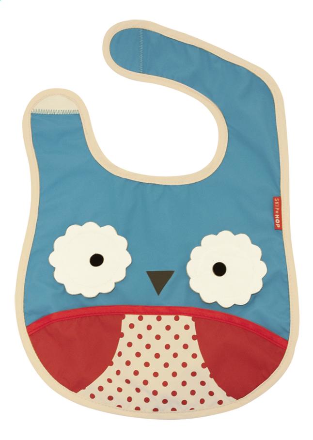 Afbeelding van Skip*Hop Slabbetje Zoo Owl met velcrosluiting from Dreambaby