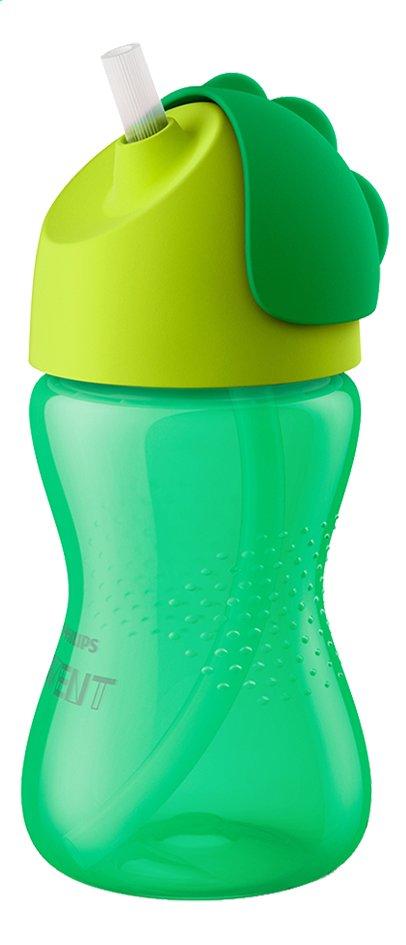 Philips AVENT Gourde avec paille Bendy vert 300 ml