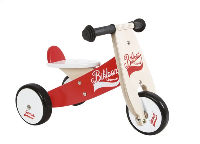 Image pour Janod Vélo sans pédales Bikloon rouge à partir de Dreambaby