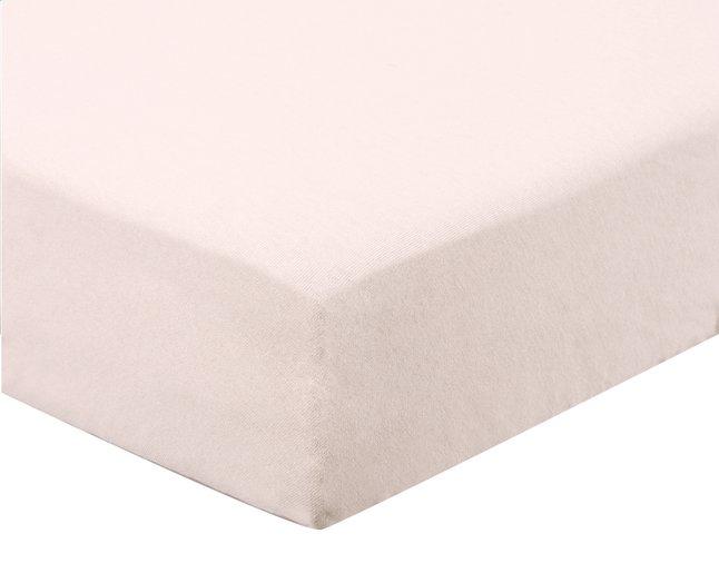 Afbeelding van Dreambee Hoeslaken Essentials light pink katoen B 60 x L 120 cm from Dreambaby