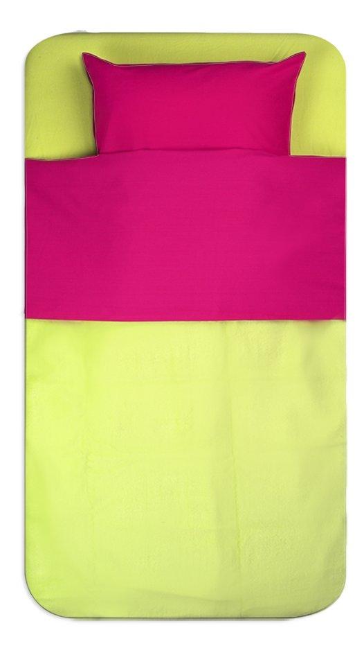 Image pour Jollein Drap pour lit Color Basics fuchsia coton Lg 100 x L 150 cm à partir de Dreambaby
