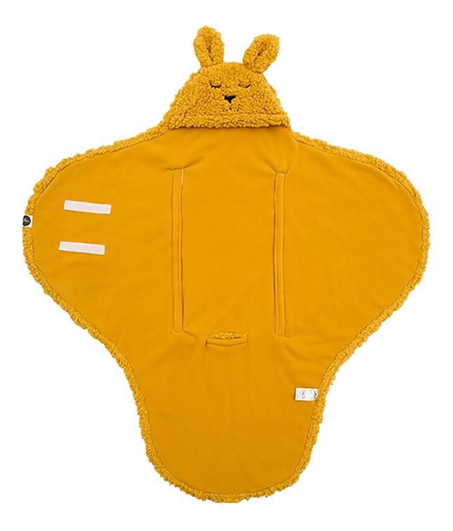 Jollein Wikkelcape Bunny mustard