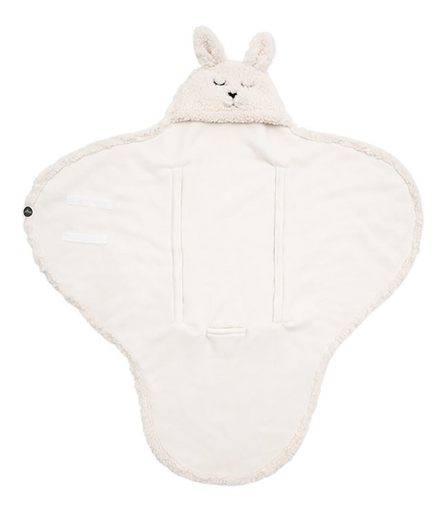 Jollein Wikkelcape Bunny off white