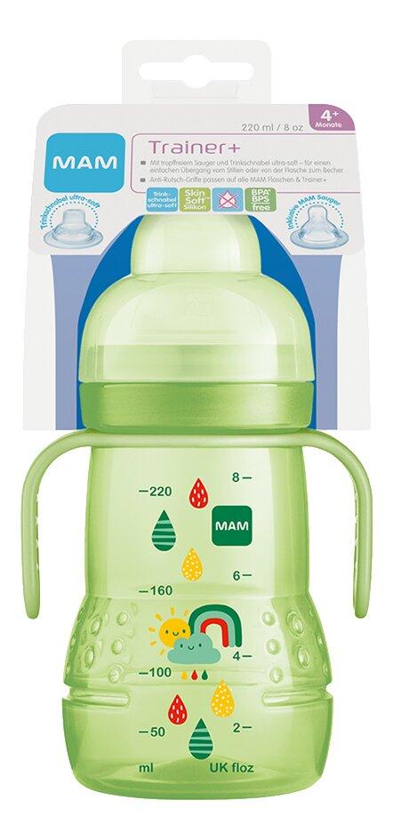 MAM Gobelet d'apprentissage Trainer+ 220 ml vert