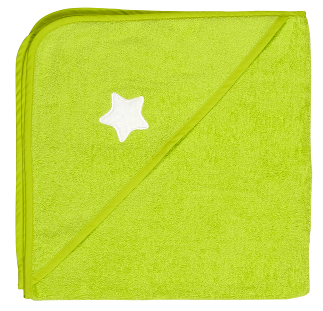 Afbeelding van Dreambee Badcape Essentials ster lime from Dreambaby