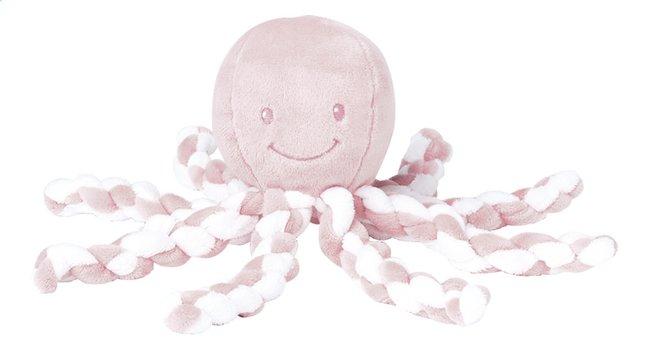 Afbeelding van Nattou Knuffel Lapidou Octopus 23 cm roze from Dreambaby