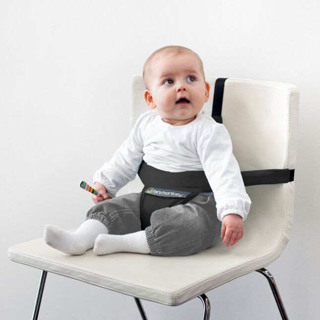 Minimonkey Stoelverhoger Mini chair zwart