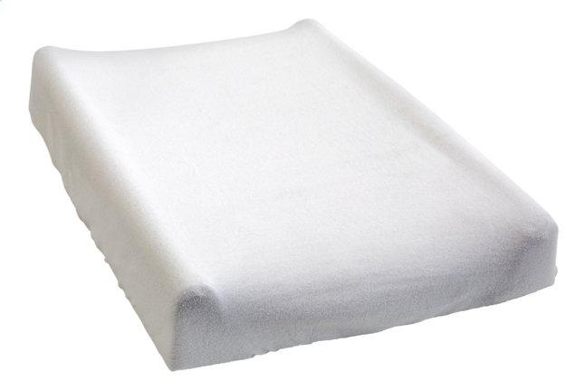 Dreambee Housse pour matelas à langer Essentials blanc cassé
