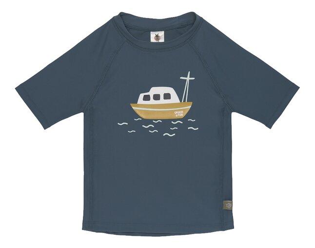 Lässig T-shirt Boat Blue