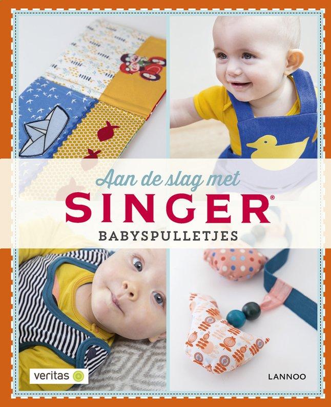 Afbeelding van Boek Aan de slag met singer babyspulletjes - Hilde Smeesters from Dreambaby