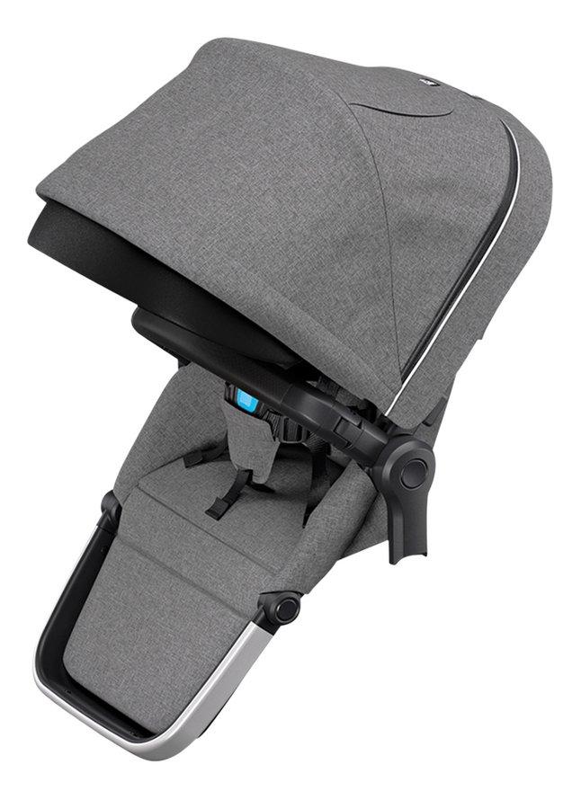 Thule Zitje voor wandelwagen Sleek Grey Melange