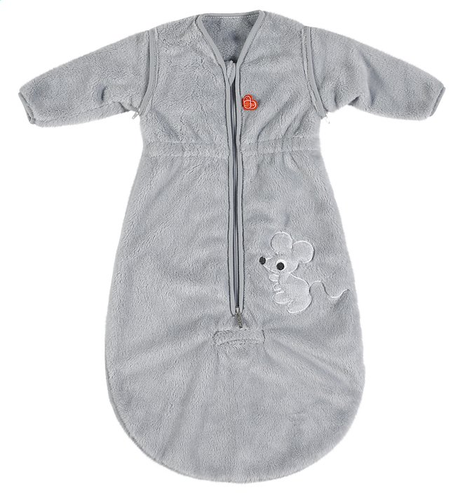 Afbeelding van Pericles Winterslaapzak Mouse Grey fleece 70 cm from Dreambaby