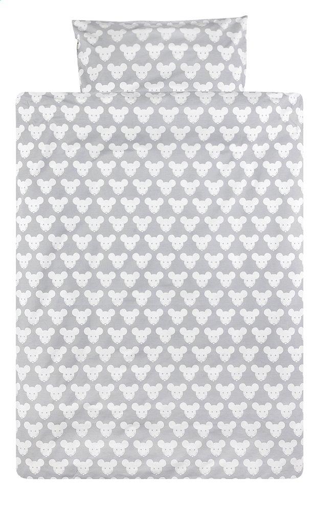 Image pour Pericles Housse de couette pour lit Mouse Grey allover coton à partir de Dreambaby