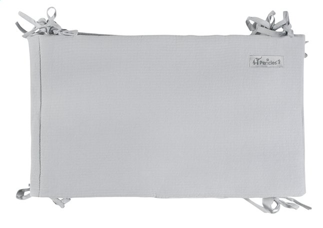 Afbeelding van Pericles Bedomranding Mouse Grey katoen/polyester from Dreambaby