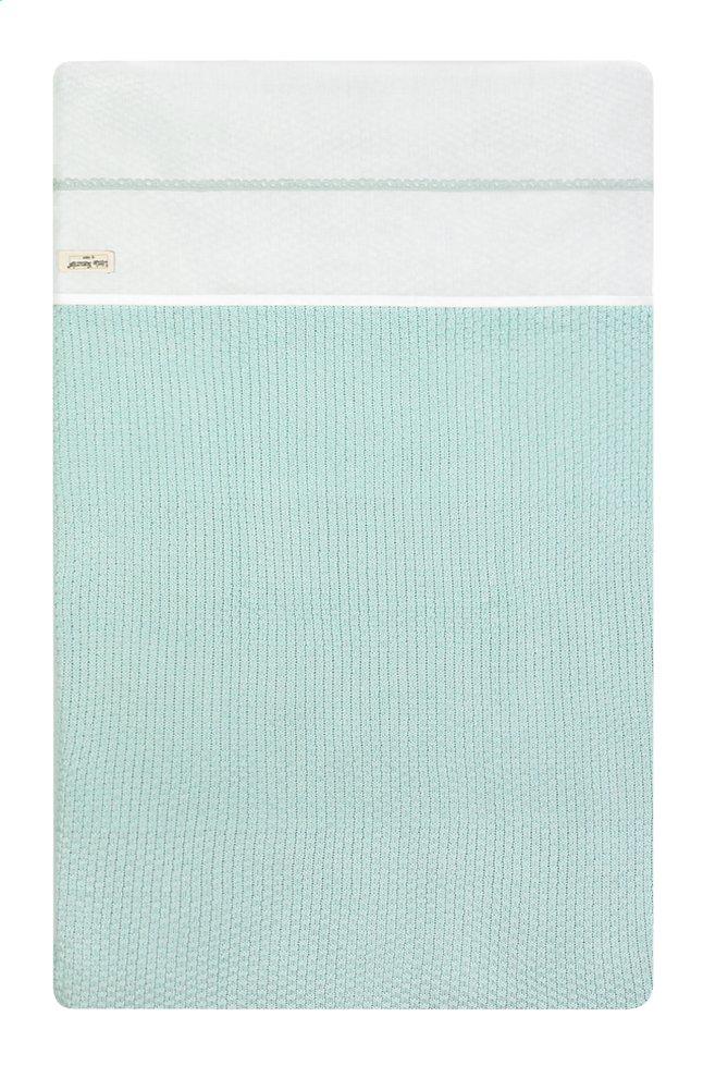 Afbeelding van Jollein Laken voor wieg of park Crochet katoen small mint from Dreambaby