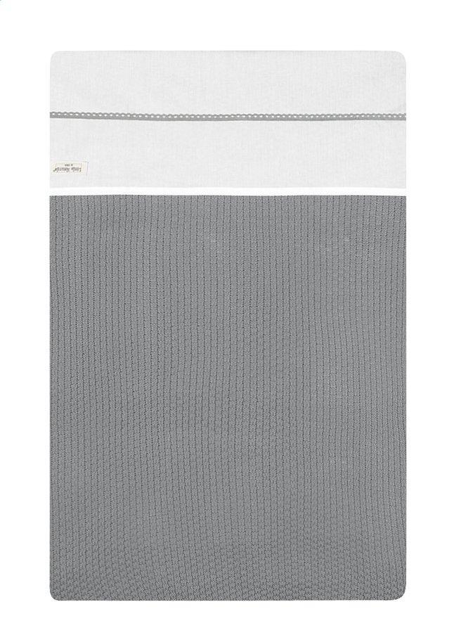 Image pour Jollein Drap pour berceau ou parc Crochet coton small grey à partir de Dreambaby