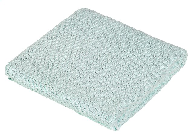 Image pour Jollein Couverture pour berceau ou parc coton/acrylique drops mint à partir de Dreambaby