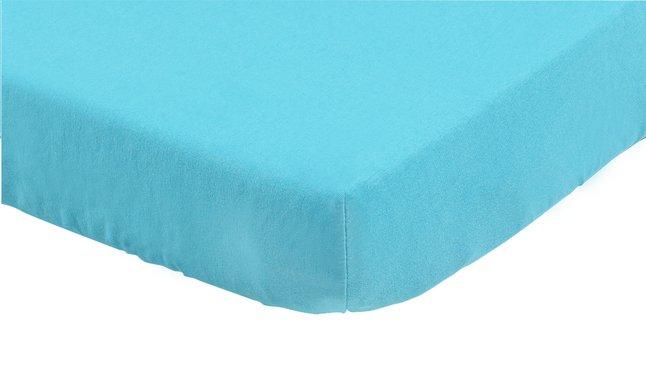 Image pour Dreambee Drap-housse pour lit Essentials turquoise coton Lg 60 x L 120 cm à partir de Dreambaby