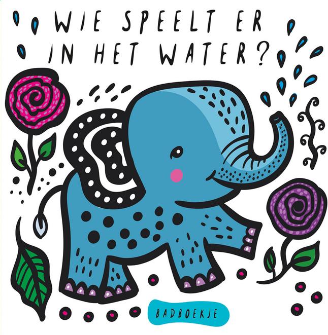 Afbeelding van Badboekje Wie speelt er in het water? from Dreambaby