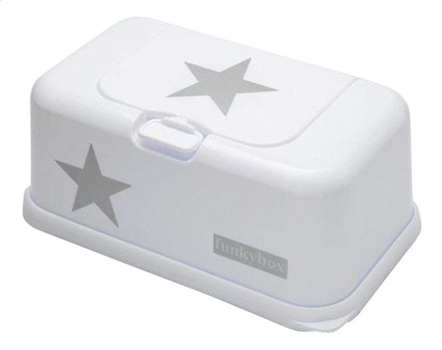 Afbeelding van FunkyBox Doos voor vochtige doekjes white silver star from Dreambaby