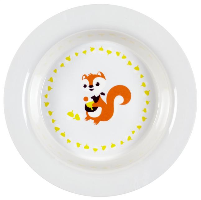 Image pour Dreambee Assiette creuse Ayko blanc/gris à partir de Dreambaby