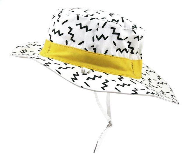 Ki ET LA Chapeau Zig Zag blanc/or de 9 à 18 mois