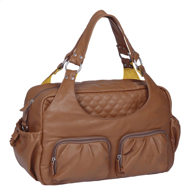 Afbeelding van Lässig Verzorgingstas Tender Multi Pocket Bag cognac from Dreambaby