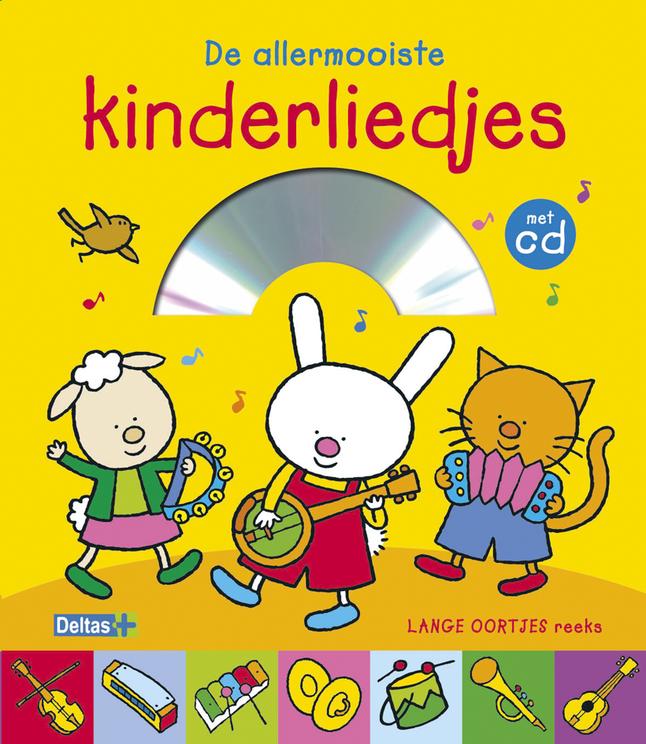 Afbeelding van Boek met cd Lange oortjes: De allermooiste kinderliedjes from Dreambaby