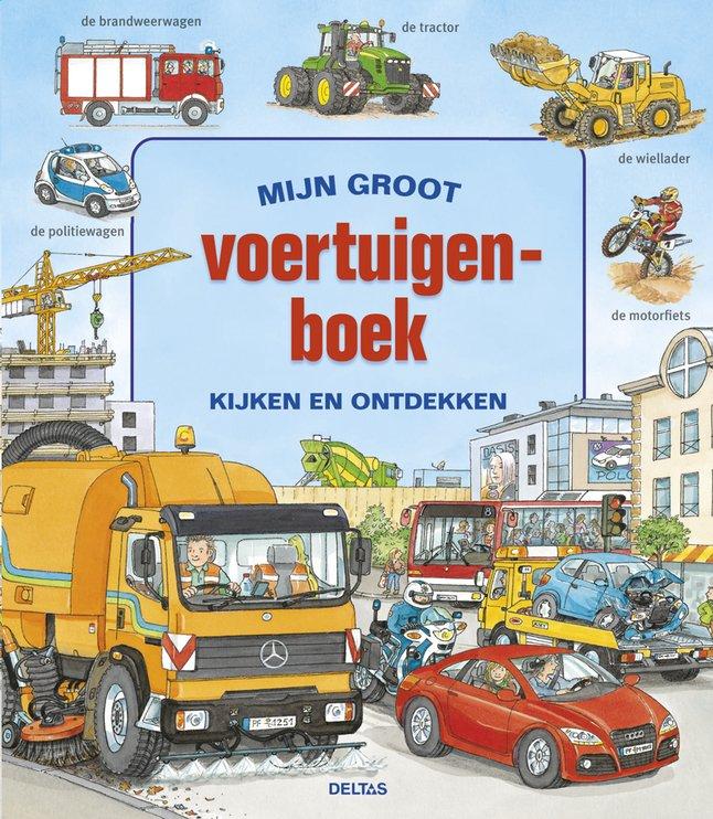 Afbeelding van Mijn groot voertuigenboek from Dreambaby