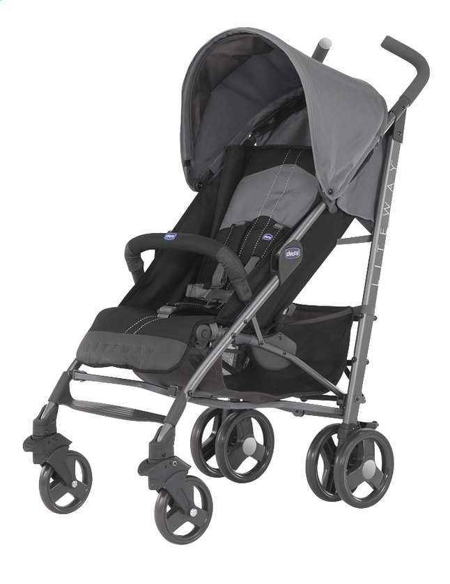 Afbeelding van Chicco Buggy Lite Way 2.0 coal from Dreambaby