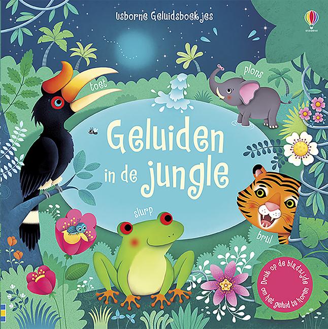 Afbeelding van Babyboek Geluiden in de jungle from Dreambaby